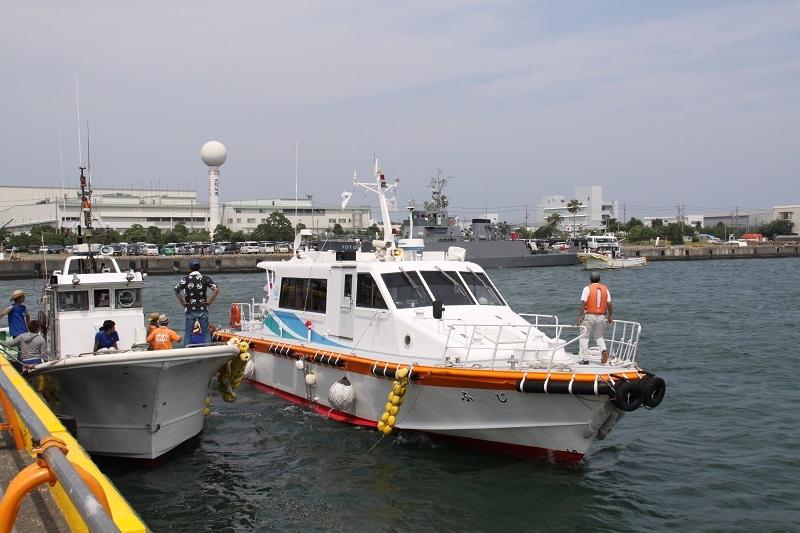 ⑥漁船体験