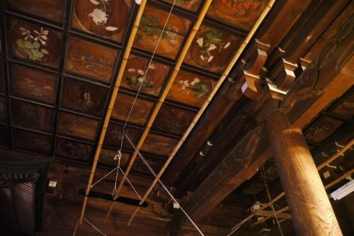 海蔵寺の天井