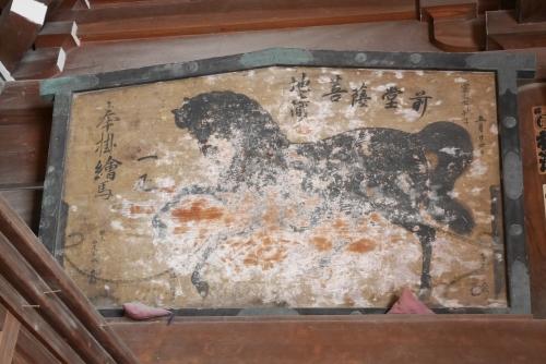 海蔵寺の絵馬