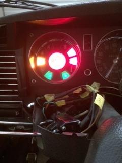 ウィンカー点灯