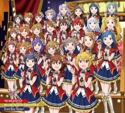 【アイマス】「ミリシタ」CD第1弾が発売初週に7.1万枚売上げオリコン3位!!  歴代初動で11位!