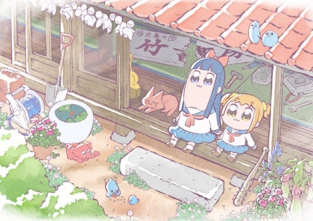 【悲報】アニメ「ポプテピピック」放送時期が10月から来年1月に延期wwwww