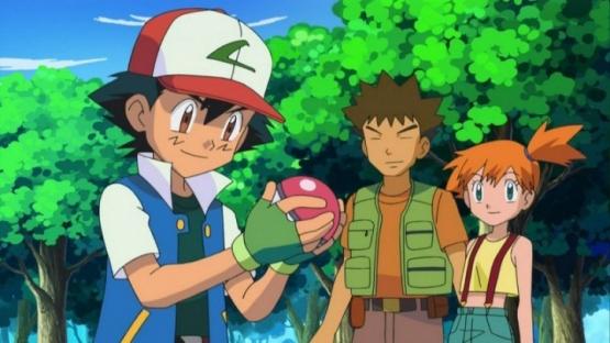 アニメ『ポケモン』でサトシさんマサラタウンへ帰りタケシとカスミに会う!! カスミがブサイクになっとるwwww
