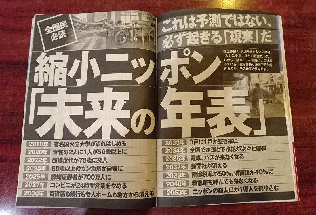 週刊現代 7.22 29