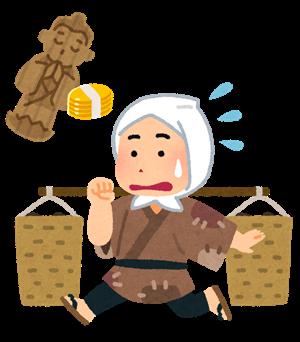 落語「井戸の茶碗」画像