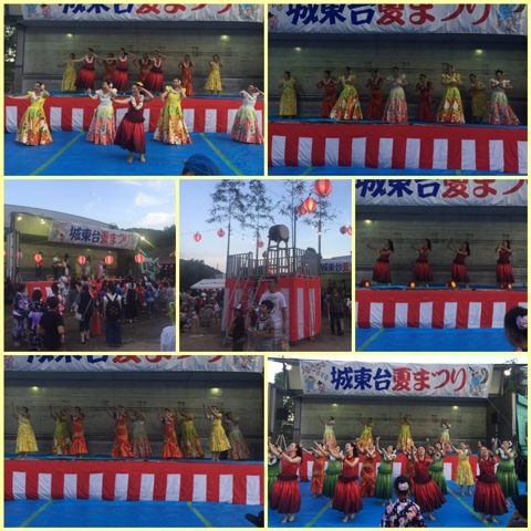 城東台夏祭り1