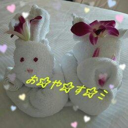タオルウサギ