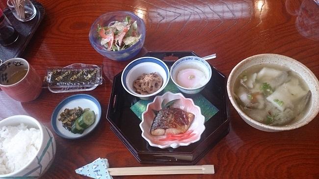 新ほり井 朝食
