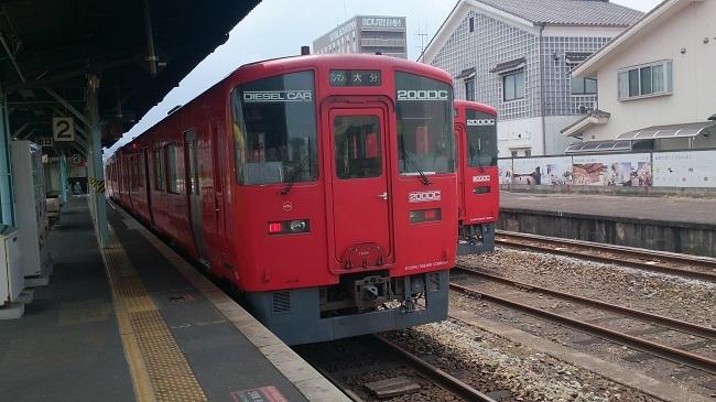 久大本線 普通列車