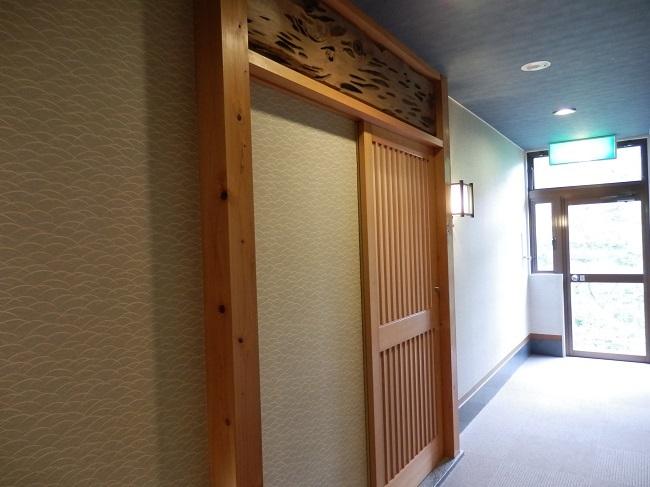 北原荘 客室廊下