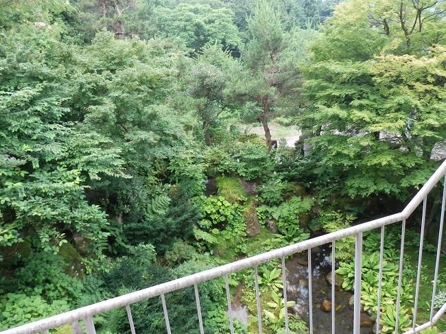 北原荘 部屋からの眺め