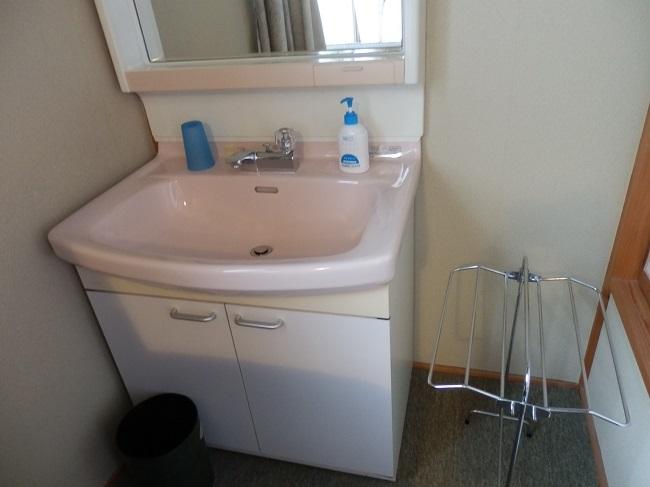 北原荘 部屋 洗面台