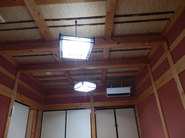 北原荘 部屋 天井