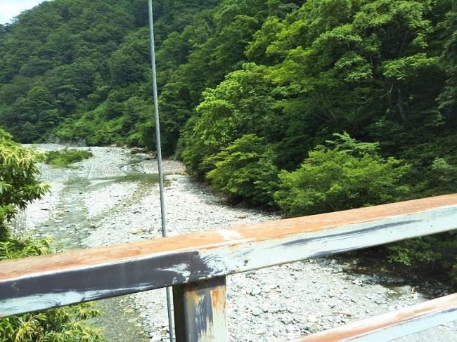白山白川郷ホワイトロード さるこ橋蛇谷川