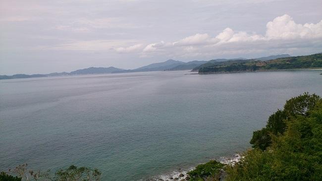 道の駅長島からの眺望