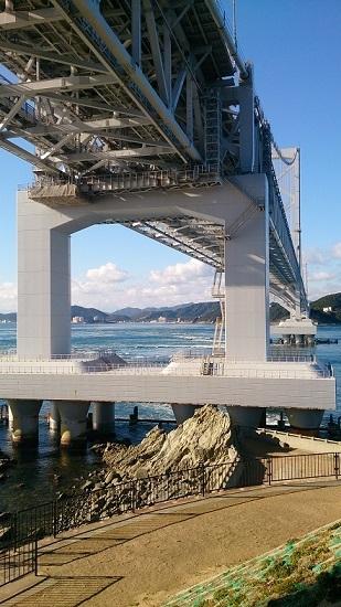 大鳴門橋 橋げた