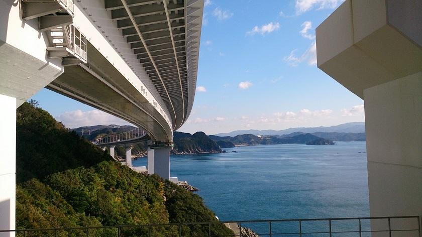 大鳴門橋 橋下1
