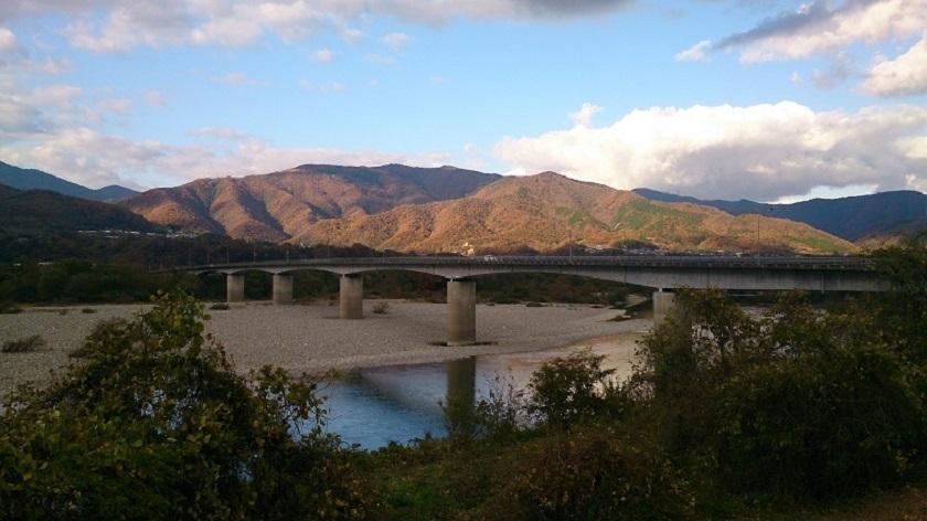 吉野川 脇町付近