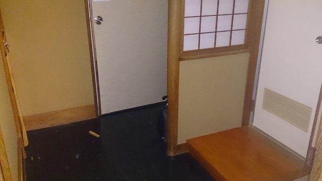 金波荘 和室 踏込