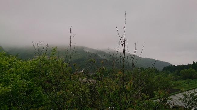旅館名山 部屋からの眺望