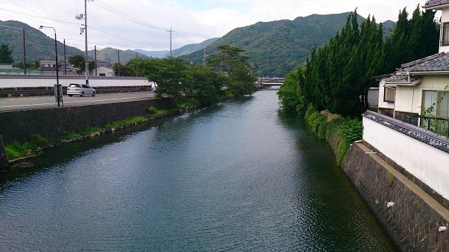 萩市内 指月橋周辺1