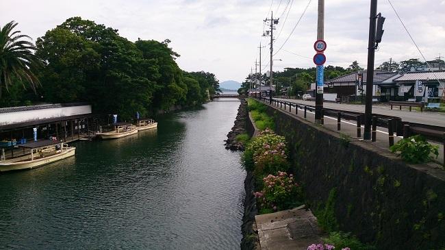 萩市内 指月橋周辺2