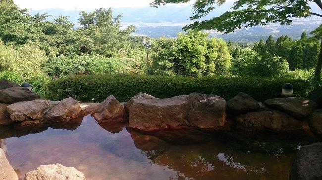 白鳥温泉上湯 大浴場露天風呂1