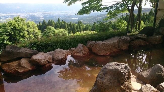 白鳥温泉上湯 大浴場露天風呂2