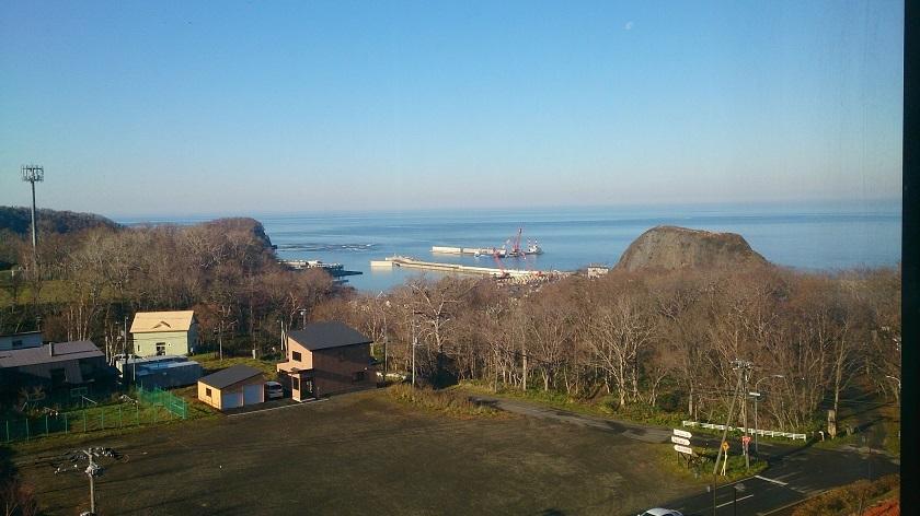 知床プリンスホテル 部屋からの眺望
