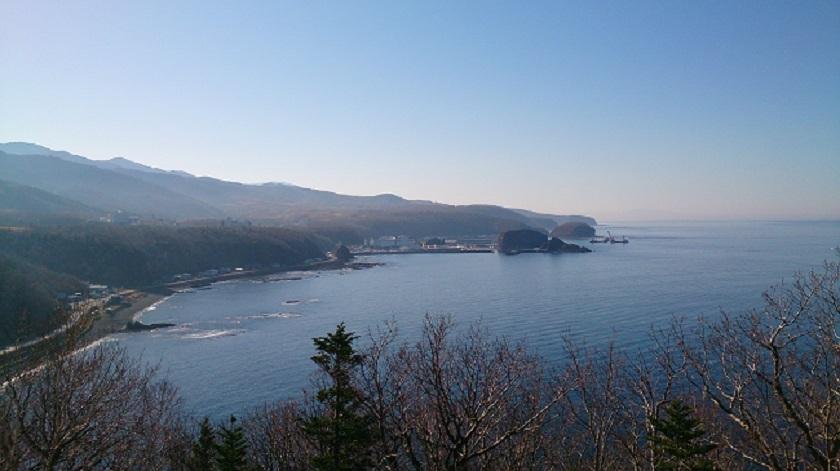 知床横断道路 プユニ岬眺望