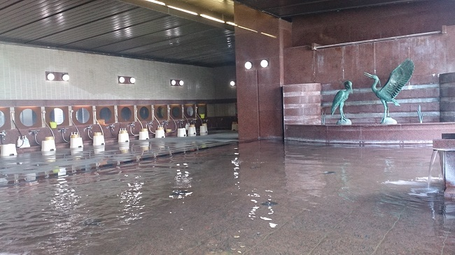 金波荘 大浴場
