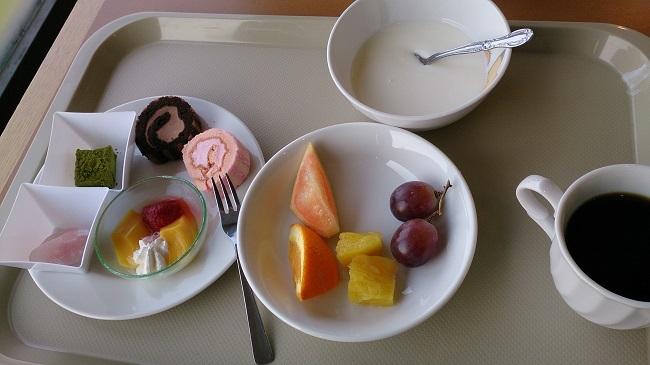たっぷの湯 朝食バイキング2