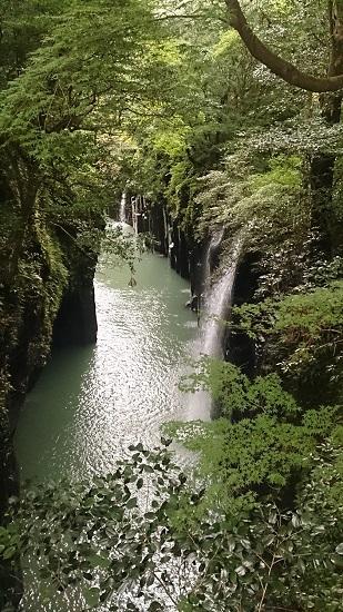 高千穂峡 真名井滝2