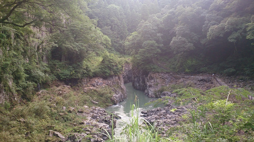 高千穂峡 散策路