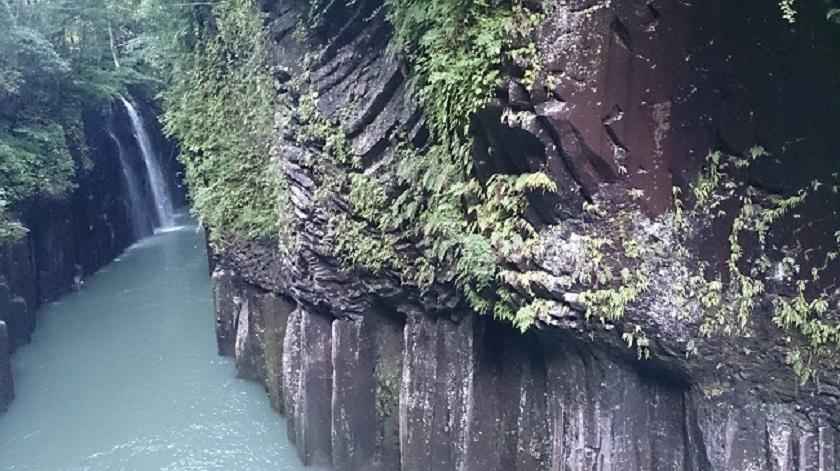 高千穂峡 断崖