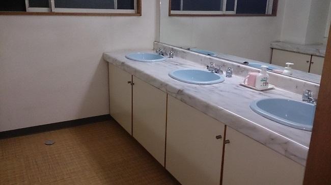 龍氣別館 共同洗面所