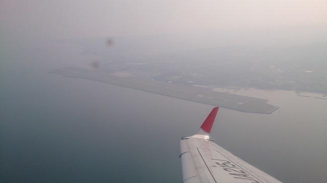 JAL機上
