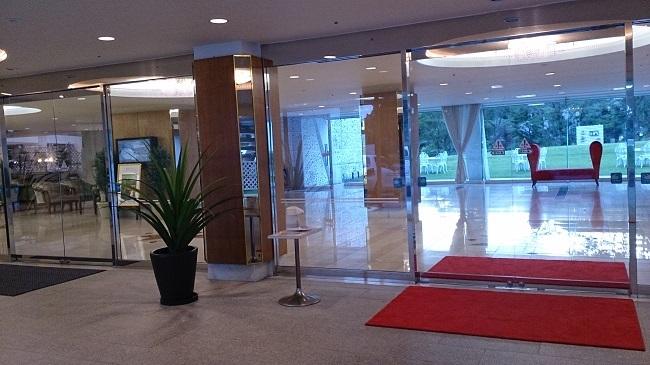 城島高原ホテル エントランス