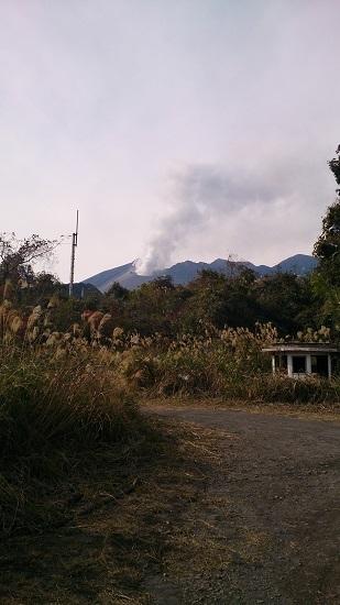 黒神からの桜島