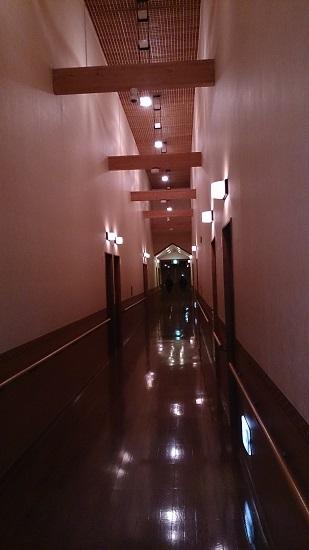 極楽寺山温泉 客室棟廊下