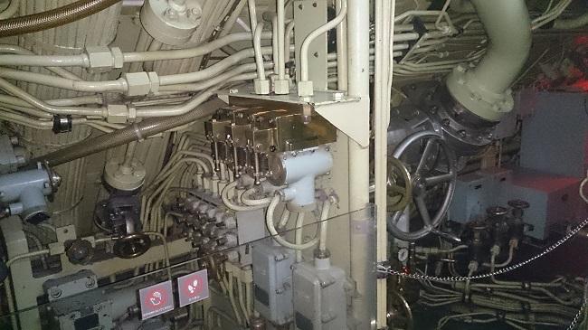 てつのくじら館 潜水艦内部2