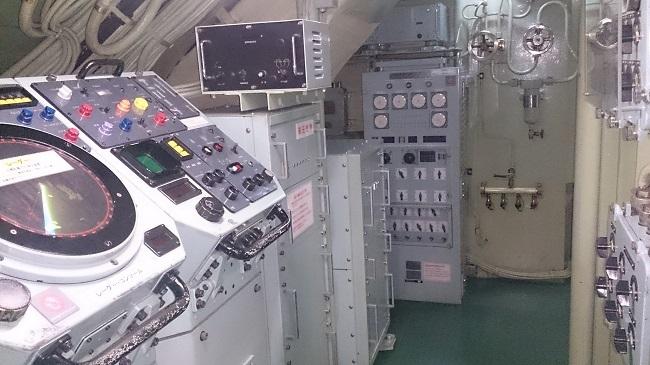 てつのくじら館 潜水艦内部4
