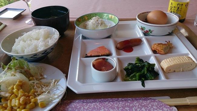 作州武蔵温泉 朝食バイキング
