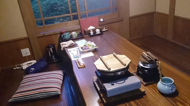 彩の庄 夕食 個室