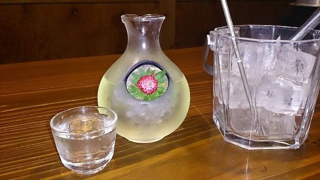 彩の庄 夕食 地酒冷酒(別注)