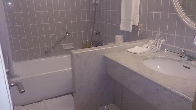 キロロトリビュートホテル 部屋 バスルーム