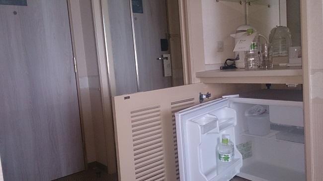 キロロトリビュートホテル 部屋 冷蔵庫