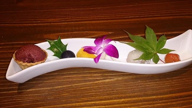 彩の庄 夕食 デザート