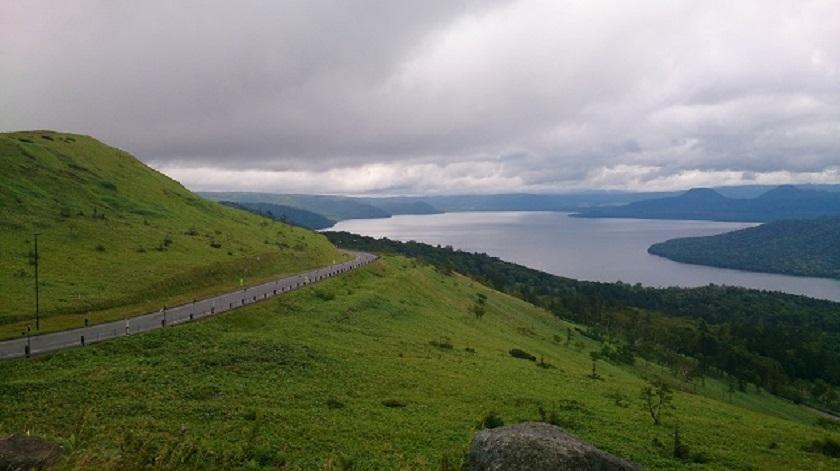 美幌峠 屈斜路湖3