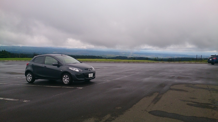 美幌峠 駐車場